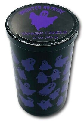 Yankee Candle HAUNTED HAYRIDE Single Wick 12 oz Candle Free Expedited Shipping