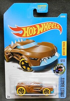 2017 Hot Wheels Car 350/365 Growler - Q or International Case