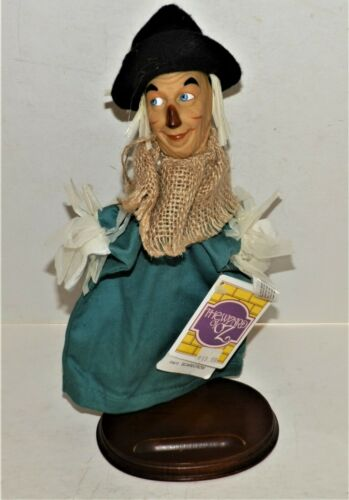 "Vintage ""Scarecrow"" Hand Puppet WIZARD OF OZ Presents 1988 NEW WITH TAGS"