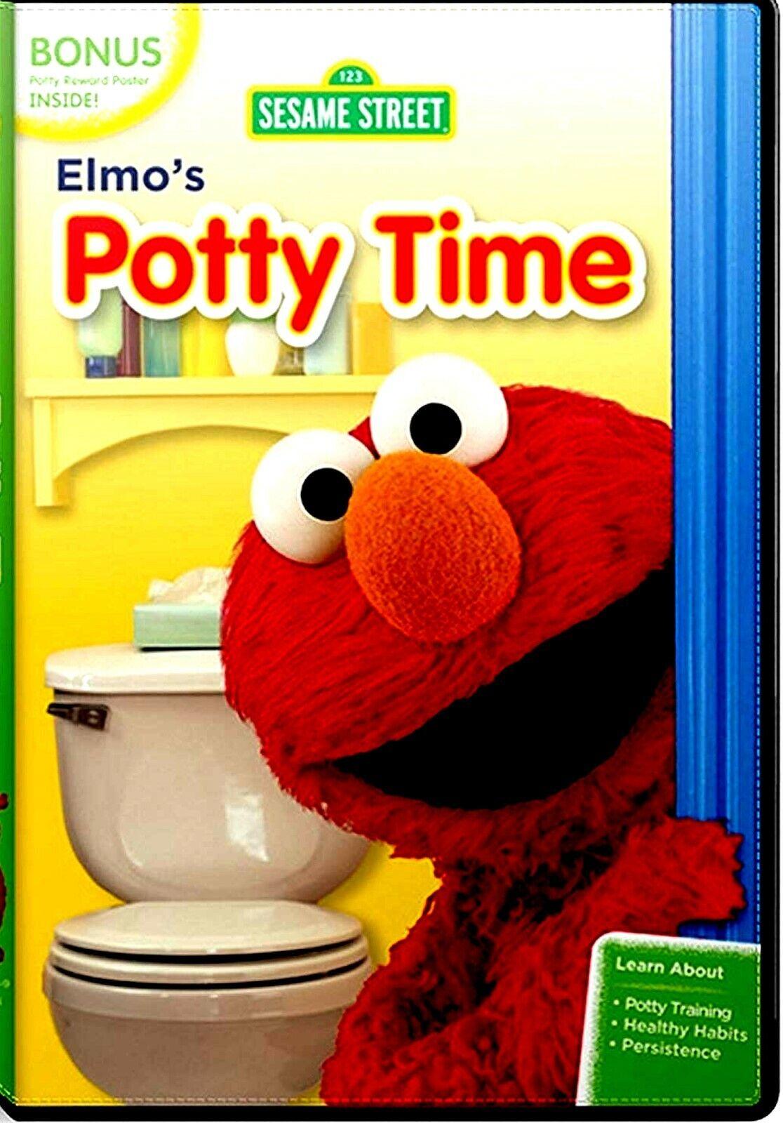 NEW DVD-  Sesame Street: Elmo's Potty Time - CHILDREN POTTY