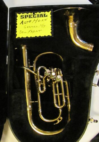 Alto Horn Eb altonium, German Mfg. , bell front  adjustable style..