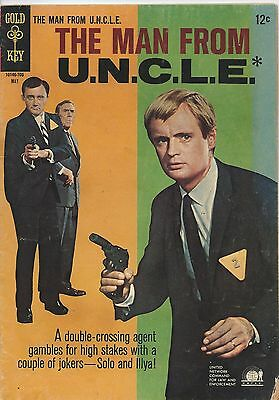The Man From Uncle May 1967  12  Gold Key  Very Good Condition