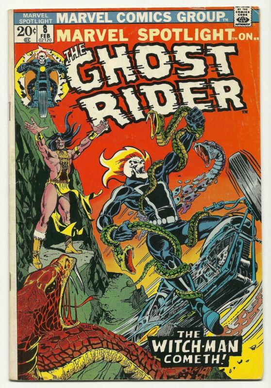 Marvel Spotlight 1972 #8 Fine Ghost Rider