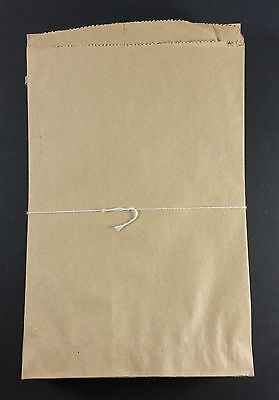 Brown Kraft Paper Bags Flat 6x9 Party Favor Merchandise Gift Treat Retail 87 pc