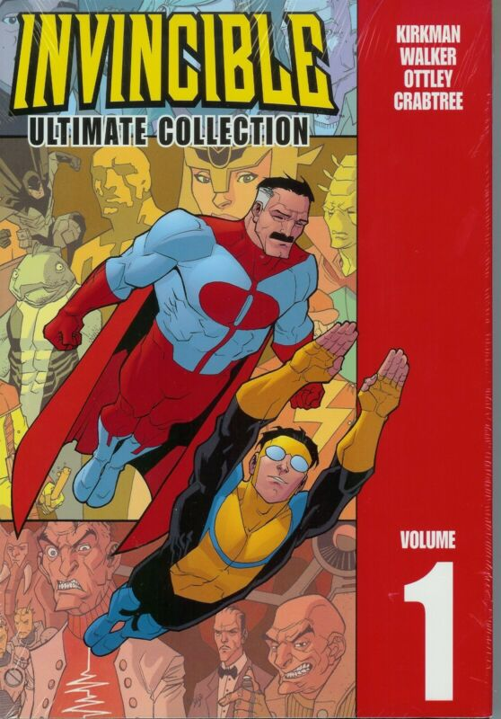 INVINCIBLE VOL #1 ULTIMATE COLLECTION HARDCOVER Robert Kirkman Comics #1-13 HC