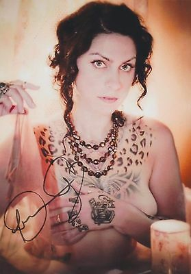 Danielle Colby Cushman  Nude  American Pickers Rare Tattoos Signed Rp 8X10 Wow
