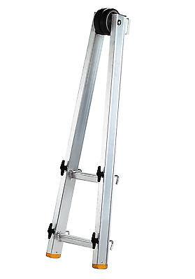 Layher Glasreiniger Leiter Aufsatz Glasreinigerleiter für Sprossen-Anlegeleitern