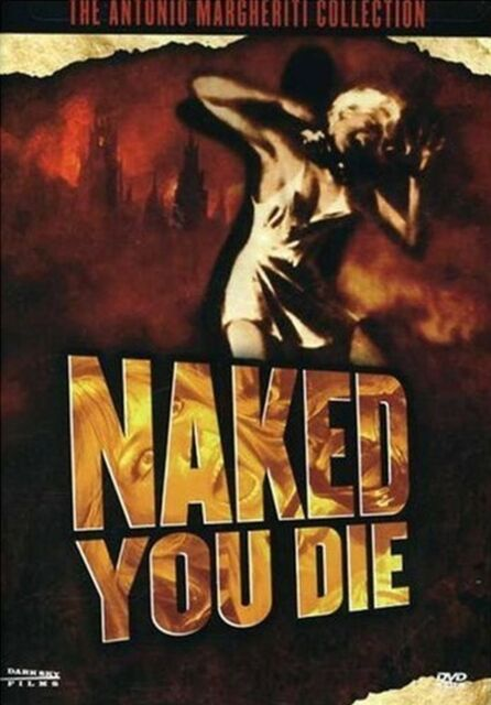 Naked You Die. RARE Uncut Early Giallo. Brand New In Shrink!
