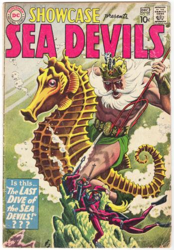 Showcase #29 (1960) Sea Devils Russ Heath Graytone Cover & Art! Scans
