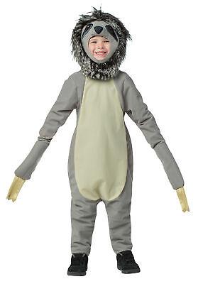 Sloth Child Faux Fur Costume Jumpsuit With Long Torso Halloween Rasta Imposta