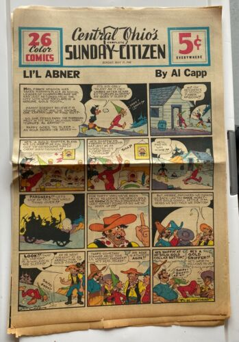Comic Strips from 1942 - RARE - LOOK