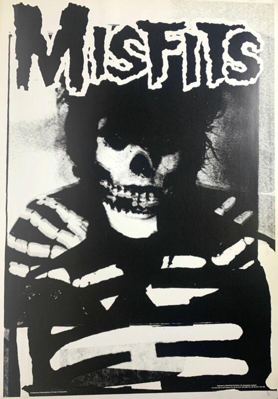 Misfits Ultra Rare UK Import Poster 24 x 35