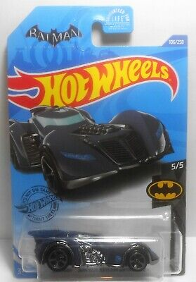 HOT WHEELS 2020 TREASURE HUNT BATMAN ARKHAM ASYLUM BATMOBILE E CASE TH MOC