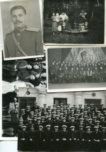 1940s 1950s 1980s Russian Soviet Lot of 5 Real Photo USSR