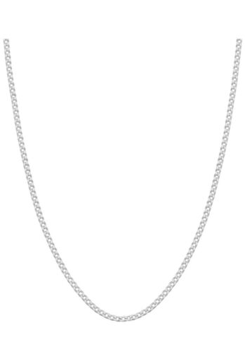 Classic 925 Sterling Silver Chain Necklace SOLID SILVER 925 Jewelry Italy 1.5mm