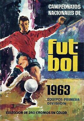 ALBUM CROMOS FUTBOL 62-63 RUIZ ROMERO FACSIMIL COMPLETO Y NUEVO