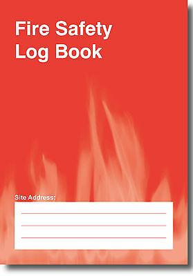 Fire Safety Log Book A5