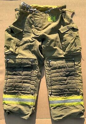 Morning Pride 38 X 30 Turnout Bunker Pants Fire Fighting Firefighter Gear