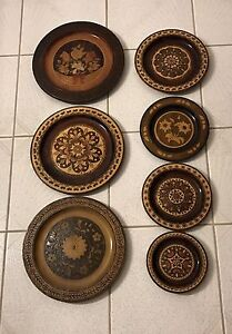 Decorative Wooden Plates
