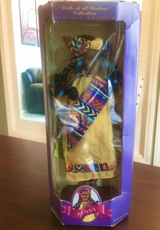 Dolls Of All National Kenya Limited Edition 1995 Doll Collection By Target   New