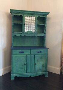 Refinished Kitchen Hutch-FREE DELIVERY THIS WEEK