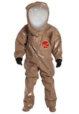 Dupont Sz Med Tychek Responder Csm Level A Chemical Protection Suit Rc550tt...