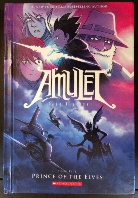 Amulet Book 5 Prince of the Elves by Kazu Kibuishi Hardcover 9780606264990