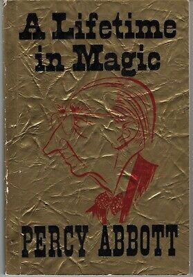 A Lifetime in Magic Percy Abbott Vintage 1960 for sale  Orange