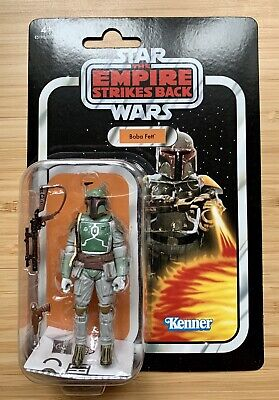 Star Wars Vintage Collection Empire ESB Card Boba Fett Figure VC09 New