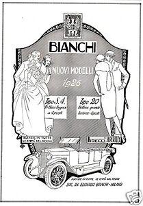 AUTO-EDOARDO-BIANCHI-MILANO-MODELLI-S-4-20-LUSSO-REGNO-ARISTOCRAZIA-1926