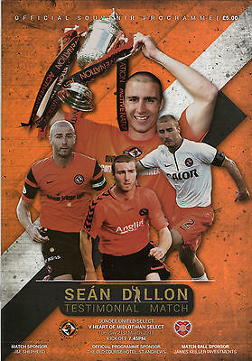 Dundee United Select v Hearts Select, Sean Dillon Testimonial   March 2017  Mint