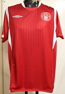 NOTTINGHAM FOREST 2009/10 S/S HOME SHIRT BY UMBRO SIZE XXL BRAND NEW WITH TAGS