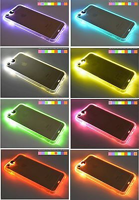 Neon Flashing Led Call Light Up Phone Case Cover For Iphone 7 7 Plus 6 6 Plus