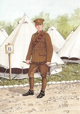 Postcard The Inns of Court Regiment, Trooper Officer Training Corps 1916 21-4