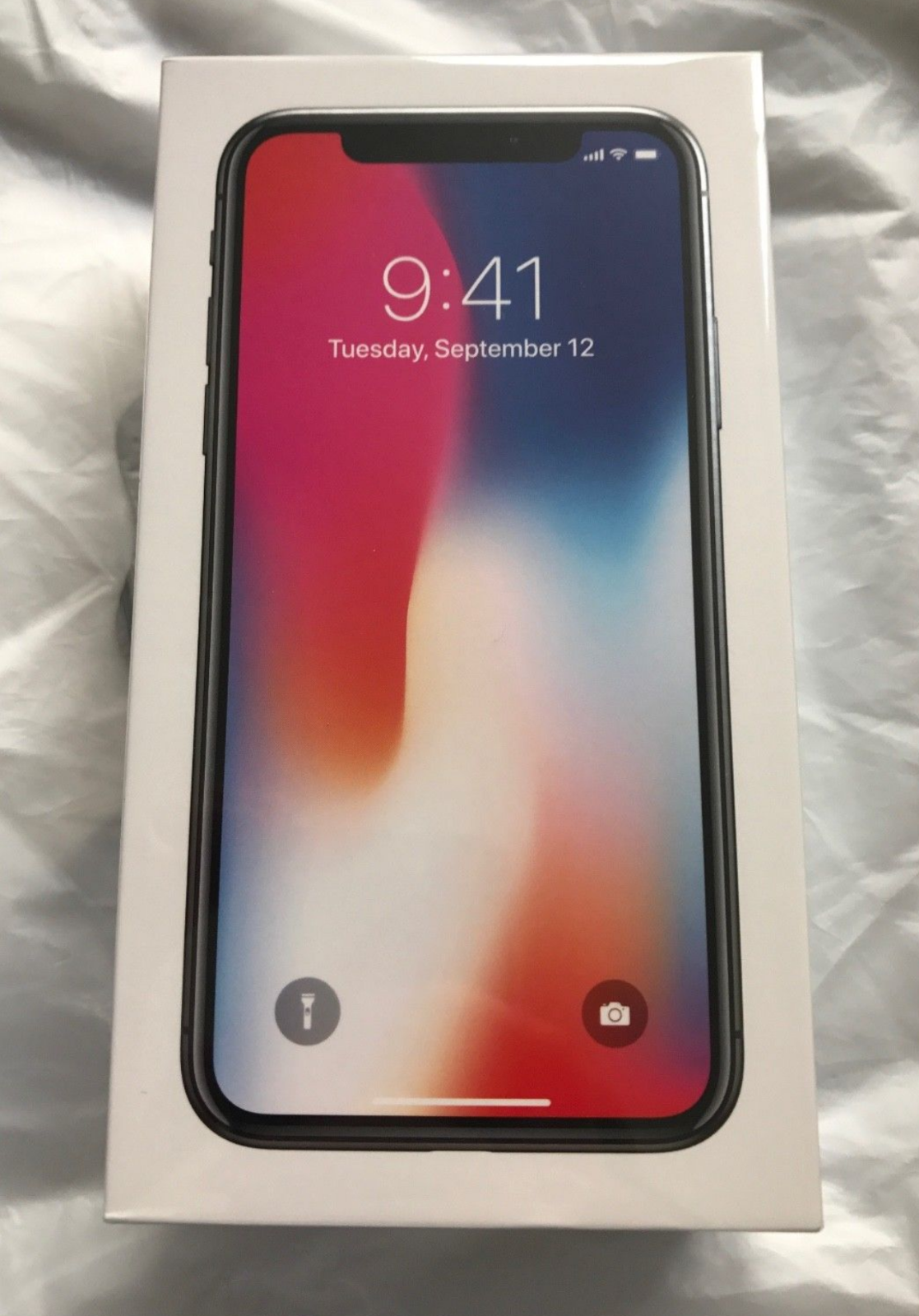 Apple Iphone X 64GB Spacegrau Ohne Simlock NEU & Verschweisst & Rechnung