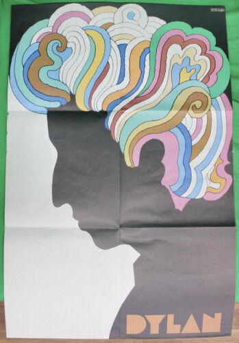 Original 1967 Bob Dylan Psychedelic Poster by Milton Glaser