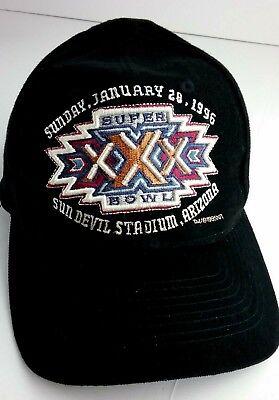 97d9c78eb7a8a 1996 NFL Football Cap Super Bowl 30 XXX Logo Official NFL New