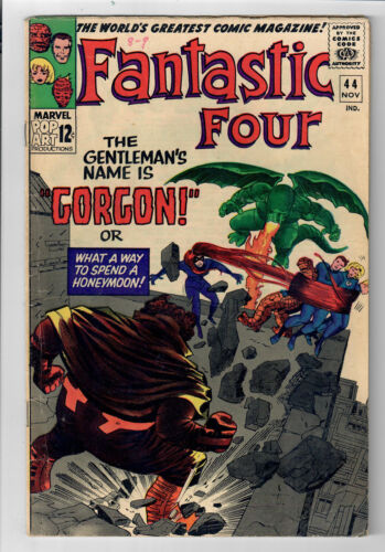 FANTASTIC FOUR #44 - Grade 6.0 - First appearance of GORGON!
