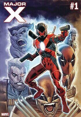 MAJOR X 1 2019 1st PRINT NM ROB LIEFELD PRE-SALE 4/3 - Superhero Comic Books
