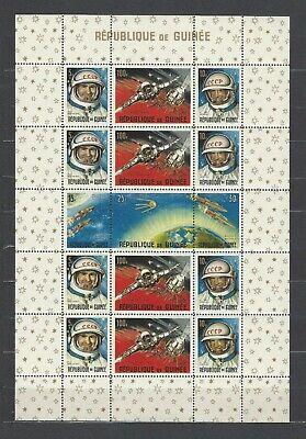 Guinea 1965 Sc#393a  Russian Achievements in Space  MNH Sheet of 15  $9.00