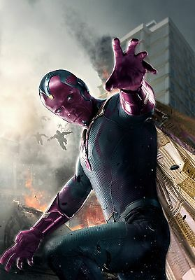 Avengers 2 Age of Ultron Movie Poster 24x36 - Vision, Paul Bettany