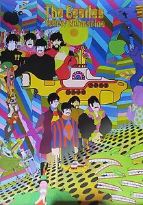 THE BEATLES-Yellow Submarine-Licensed POSTER-90cm x 60cm-Brand New
