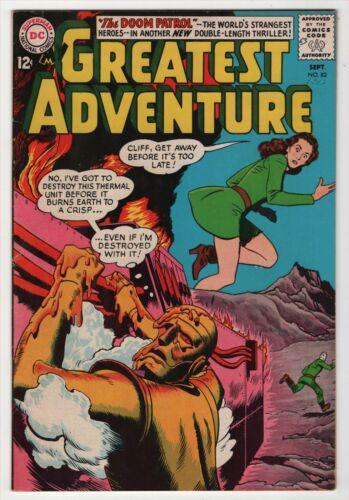 My Greatest Adventure #82 nice 3rd appearance Doom Patrol 1963 DC create-a-lot