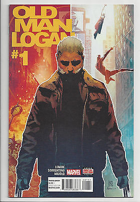 OLD MAN LOGAN #1 WOLVERINE 3 MOVIE X 23 Marvel Lemire 2016 NM