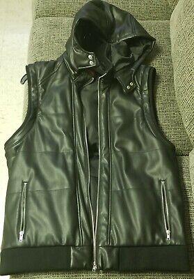 Guess Leather jacket men xl