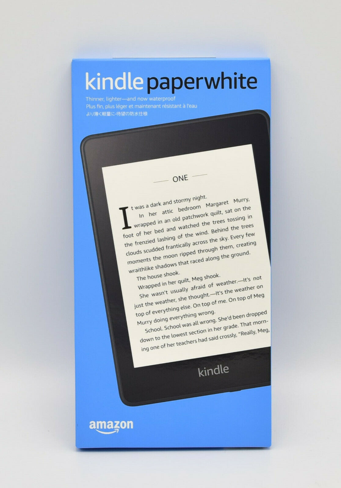 Amazon Kindle Paperwhite (10. Generation) 8GB, WLAN, mit Spezialangeboten, NEU