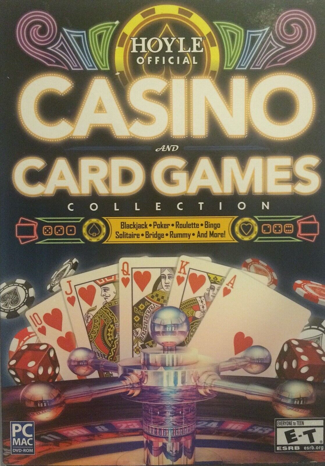 Hoyle Official Casino And Card Games Collection -Card PC Game NEW 100 GAMES - $9.99