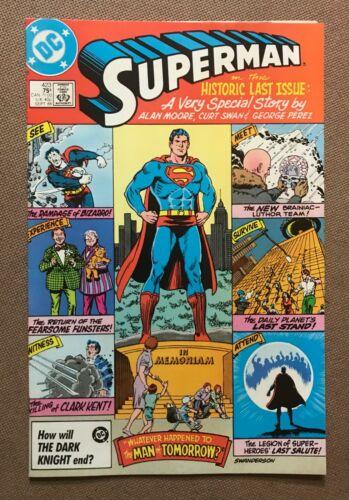 Superman #423 - Last Issue Alan Moore Story