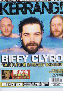 BIFFY-CLYRO-NIRVANA-BULLET-FOR-MY-VALENTINE-Kerrang-no-1235-8-Nov-2008