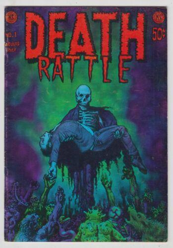 Death Rattle #1, RICHARD CORBEN, JOHN POUND, Underground 1972, FINE